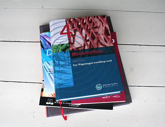 Metamorfose: Wageningen UR 1993-2018