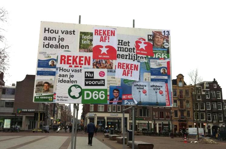 Amsterdam, Haarlemmerplein. Inzender Adriaan de Groot