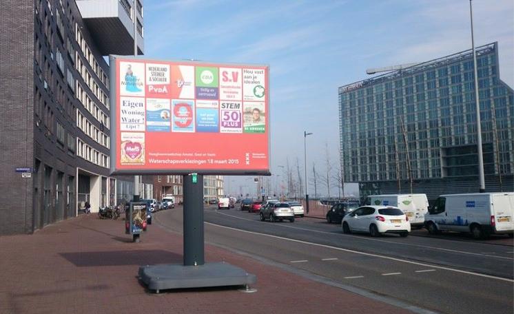 Amsterdam, Westerdoksplein. Inzender Jonas de Groot